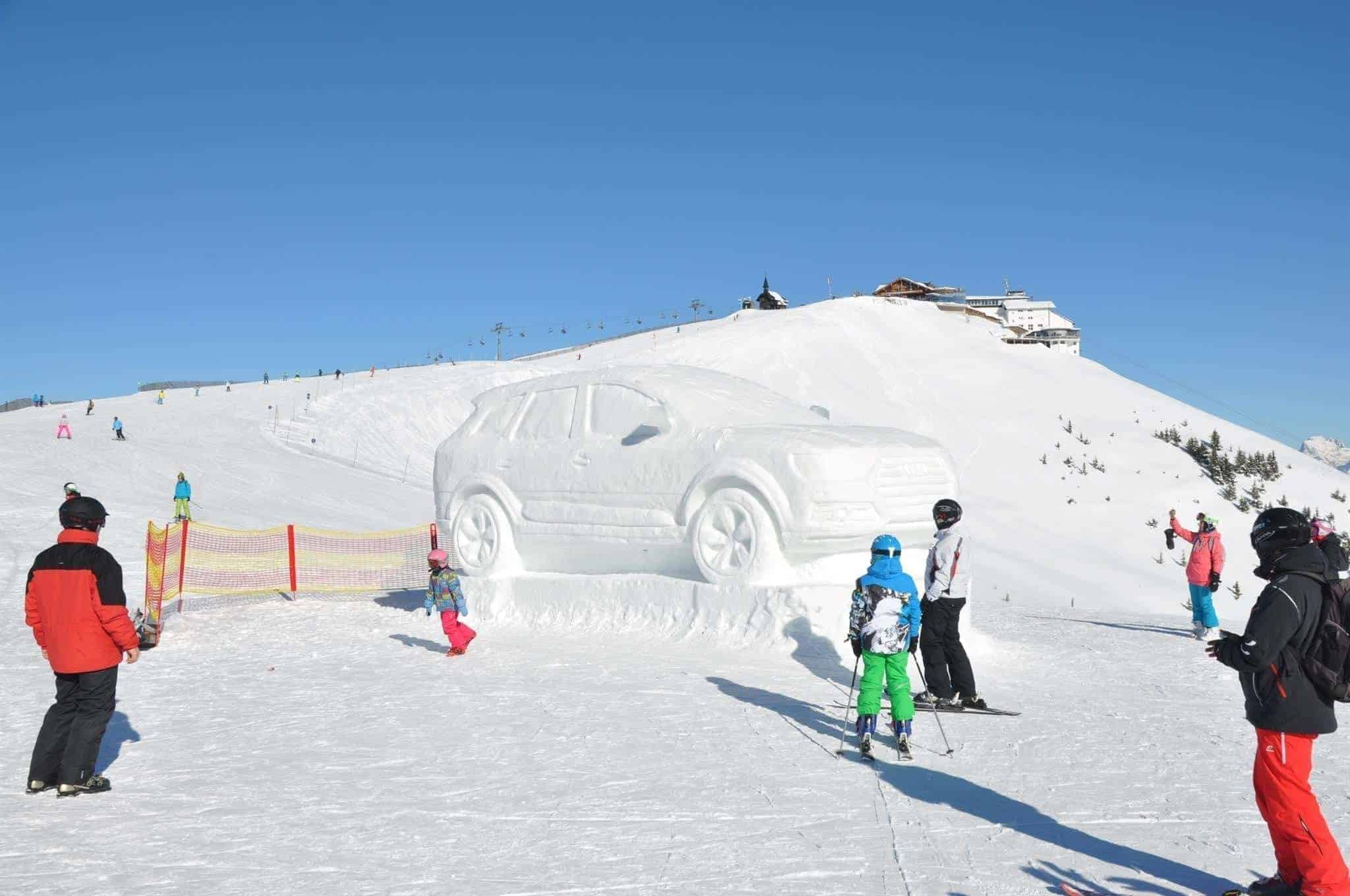 ICE WEEK: Schneekunst am Berg