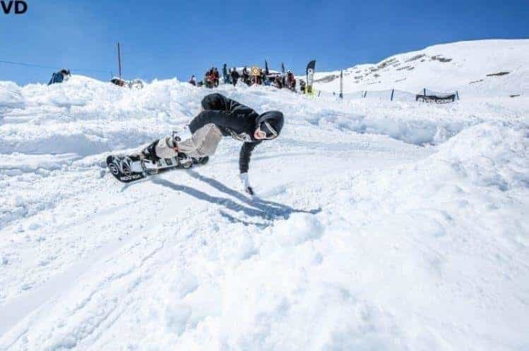 Kitzsteinhorn Banked Slalom