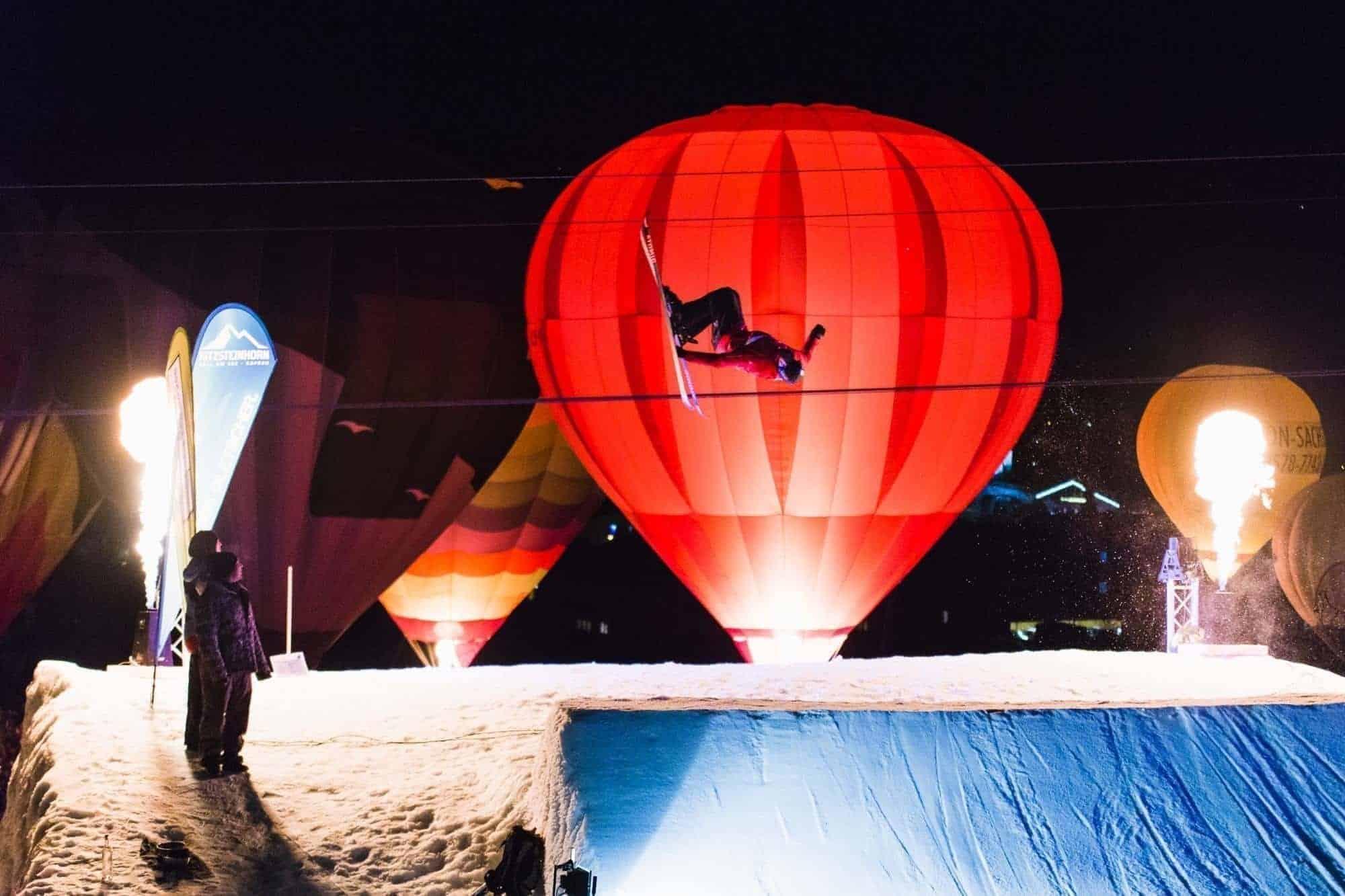 Nacht der Ballone Kaprun