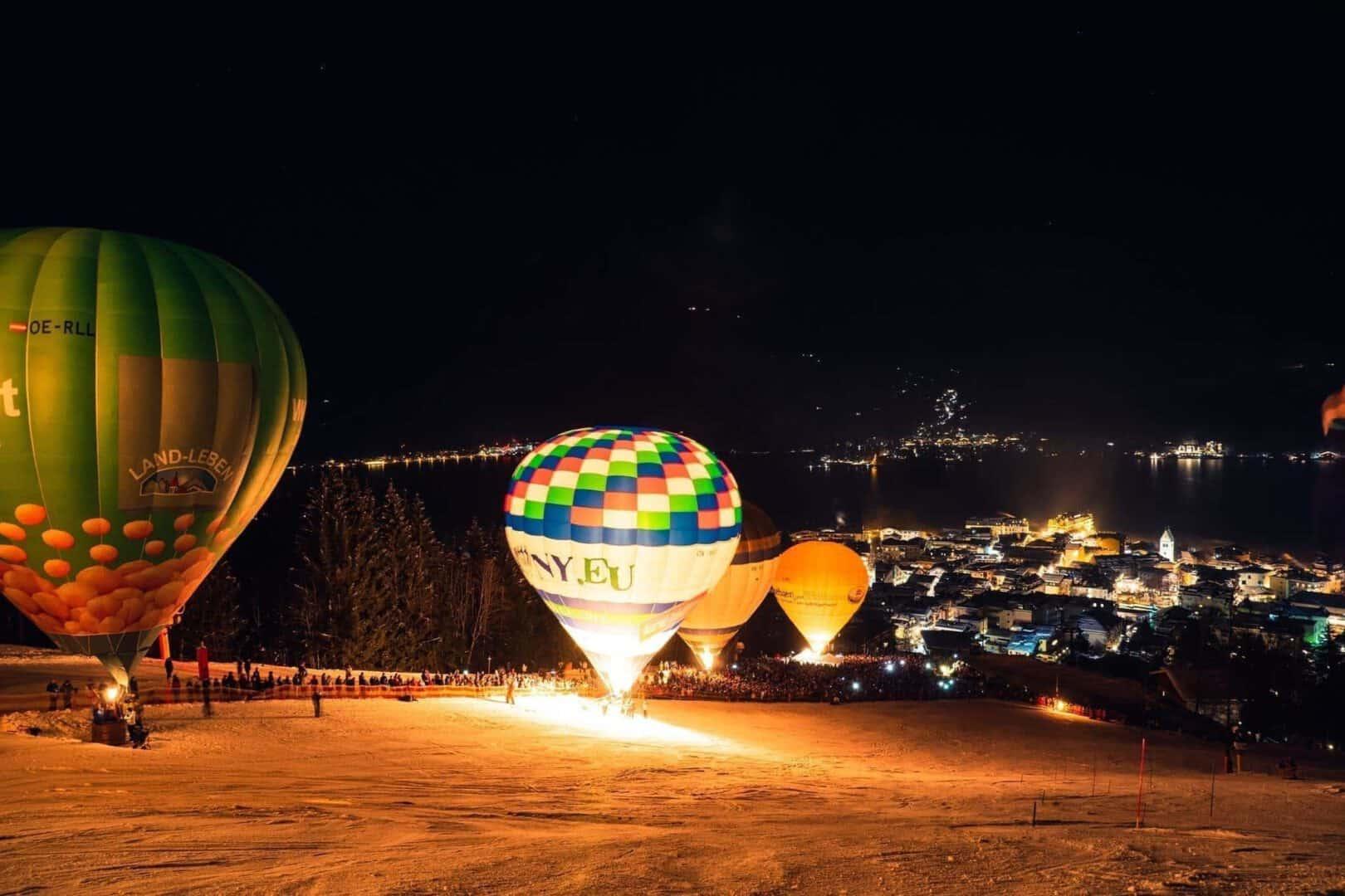 Nacht der Ballone Zell am See