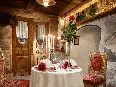 Dinner im Weinkeller